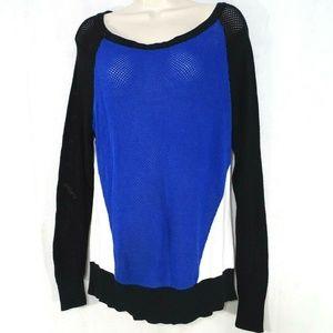 Torrid Open Stitch Pullover Sweater Women Size 1X